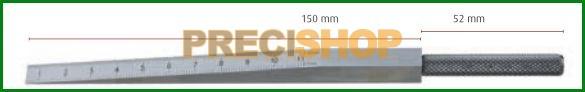 MIB 08082029 Mérőék; Acél, 0,5 - 11mm