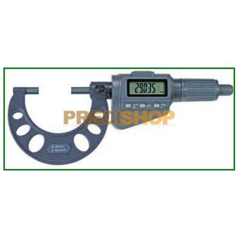 MIB 02030029 Digitális mikrométer szett, Racsnis beállítóval, 0-100mm