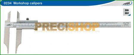Üzemi tolómérő 0-300 mm DIN 862 Helios - Preisser 0234503 / 601216015