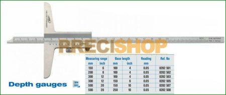 Mélységmérő Helios - Preisser 0282507, 0-500/0,05mm
