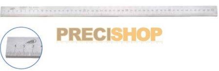 Acélvonalzó, B-form. 500/1,0mm  25x5mm,  DIN866  Helios-Preisser   0452101. alsó osztás;
