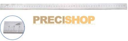 Acélvonalzó, B-form. 1000/1,0mm  30x6mm,  DIN866  Helios-Preisser   0452103. alsó osztás;