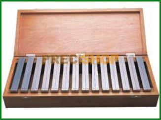 MIB 06062090 Mérőhasáb klt.; Párhuzamosan edzett, HRC 60 ±2, Tűrés ±0,01 mm; 14 pár