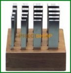 MIB 06062096 Mérőhasáb klt.; Párhuzamosan edzett, HRC 60 ±2, Tűrés ±0,01 mm; 20 pár