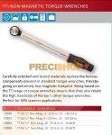 NORBAR Nyomatékkulcs, TW TT i50  13903  racsnis, kattanó, nem mágneses, NON-Magnetic,