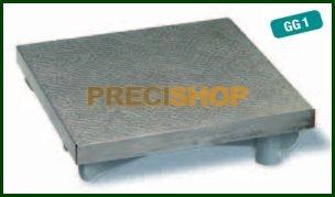 Tusírozó  / Mérőasztal-Öntvény 200x200 mm  HOREX 2562401