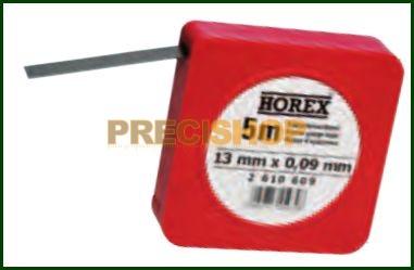 Hézagoló szalag 5m / 0,01mm HOREX 2610601