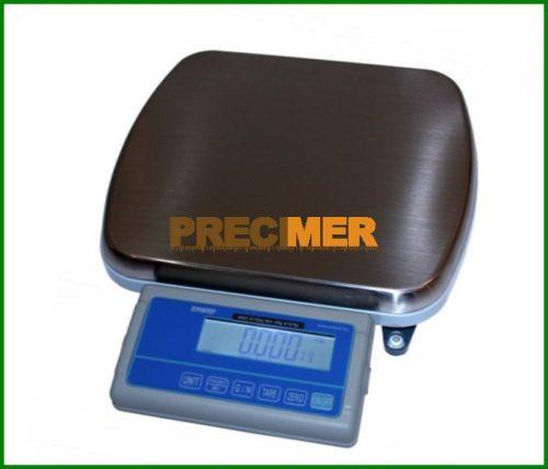 Hitelesíthető tömegmérő mérleg 30 kg, háttérvilágítós LCD kijelzővel ENWRP-30