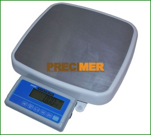 Hitelesíthető tömegmérő mérleg 150 kg, háttérvilágítós LCD kijelzővel ENWRP-150