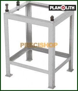 Állványzat mérőasztalhoz, 2000x1000x220  60kg Planolith 155-616, 5540250018