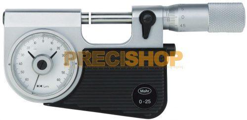 Mahr 4150000 Finomkijelzős mikrométer 0-25 mm Micromar. 40F