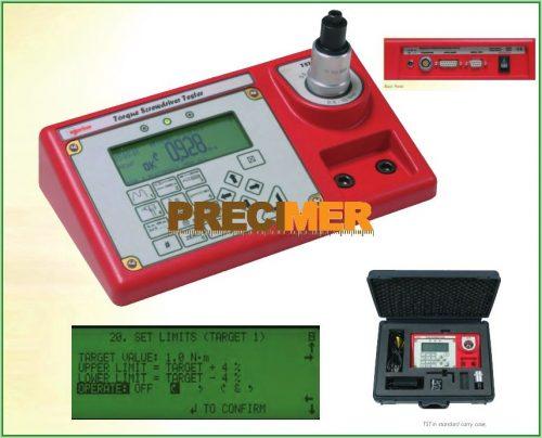 NORBAR Digitális nyomaték ellenőrző  TST 25   RS-232-C  +/-0.5%   RS-232, 1,25-25 Nm