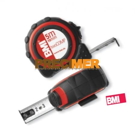 BMI Mérőszalag, 2 komponensű tok 5 m / 19 mm