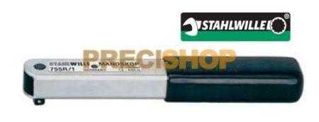 Nyomatékkulcs Stahlwille  755R/1  MANOSKOP® Nyomatékkulcs 1,5-12,5Nm racsnis, kattanó