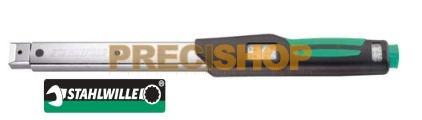 Nyomatékkulcs Stahlwille  730N/2  MANOSKOP®  2-20Nm, skála: 1/0,2Nm (Rátűzőfejes, kattanó )