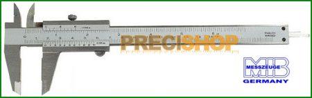 MIB 01001041 Tolómérő csavar rögzítős 150 mm / 0,02   DIN 862 INOX