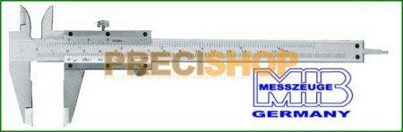 MIB 01002007 Tolómérő csavar rögzítős 150 mm / 0,05  DIN 862 INOX
