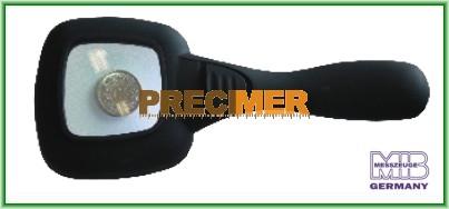 MIB 01005087 Nagyító, LEDes lámpával, 4x nagyítás
