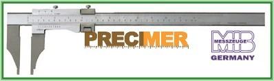MIB 01012063 Műhely tolómérő, Din 862 0-600/0,05mm, 41012063