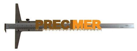 MIB 01015015 Mélységmérő akasztós, 200 mm/0,02  DIN 862