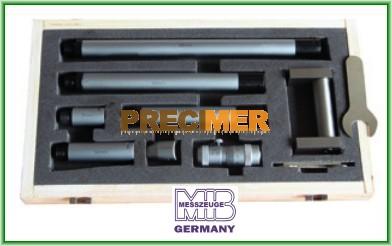 MIB 01021046 Furatmikrométer szett , 50 - 600 mm/ 0,01 mm