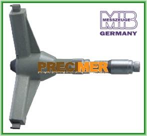 MIB 01022090 Hárompontos furatmikrométer 100-125 mm