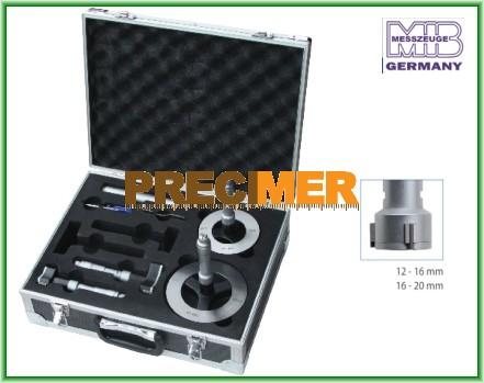 MIB 01022135 Hárompontos furatmikrométer készlet 12-20 mm
