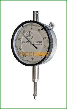 MIB 01023005 Mérőóra fémházas  0-10/0,01mm d:58mm, 41023005