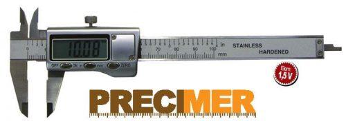 MIB 02026085 Digitális tolómérő,0-100/0,01mm DIN 862