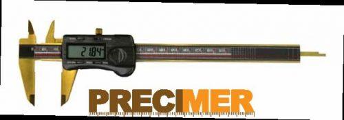 MIB 02026113 Digitális tolómérő (ABS),TITÁN BEVONATOS,DIN 862 150/0,01mm