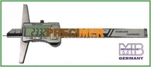MIB 02026161 Digitális Mélységmérő,Ø 1,5 X 6 mm-Es Csúccsal 0-300/0,01mm, 42026161
