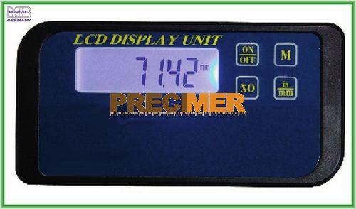 MIB 02026270 Digitális kijelző egypofás tolómérőhöz, 1-soros  RB5 adatkimenettel