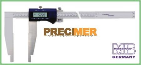 MIB 02027007 Digitális Műhely tolómérő, 0-600/0,01mm, 42027007