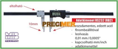 MIB 02027079 Digitális műhelytolómérő 1000 mm
