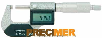 MIB 02029081 Digitális Mikrométer, IP54 25-50/0,001mm
