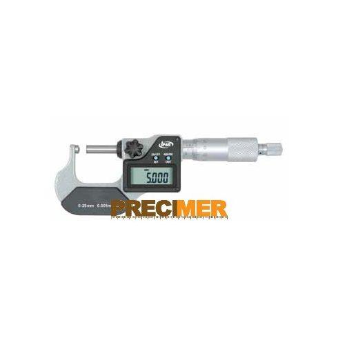 MIB 02030080 Digitális Mikrométer, IP 65 0-25/0,001mm