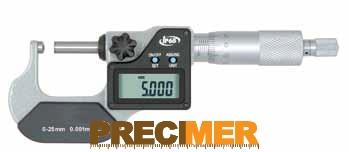 MIB 02030081 Digitális Mikrométer, IP 65 25-50/0,001mm