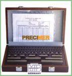 MIB 06062012 Mérőhasáb készlet 87 részes  DIN EN ISO 3650/2, 46062012