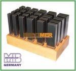MIB 06062038 Párhuzamos alátét készlet, 24 Pár Hossz: 125mm