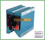 MIB 06065025 Mágneses prizma - Tartóerő 100 kg, be és kikapcsolóval