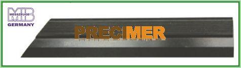 MIB 07075039 Vonalzó 500 mm, szerszámacél, DIN 874/00