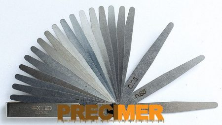MIB 08078009 Hézagmérő Készlet. 20 részes   0.05 - 1.00 mm