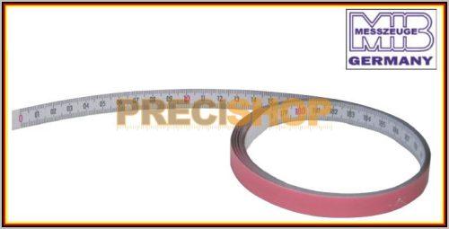 MIB 09090035 Öntapadós mérőszalag  1 m