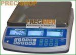 ENQC-15 hitelesíthető darabszámláló mérleg  6/15 kg 2/5 g