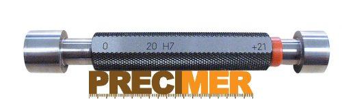 Kétoldali dugós idomszer d: 25mm Tűrés: H7