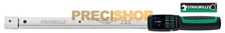 Nyomatékkulcs Stahlwille  714/10  MANOSKOP®  Digitális Nyomatékkulcs 10-100/0,1Nm (Rátűzőfejes, kattanó)
