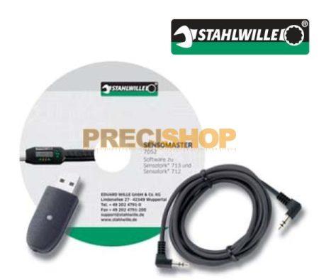 Szoftver-USB adapter+jack kabel. 730D sorozathoz Stahlwille  7759-1