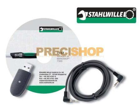 Szoftver-USB adapter+jack kabel. 730D sorozathoz Stahlwille  7759-3