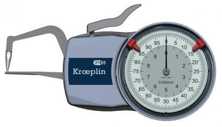 KROEPLIN Tapintókaros mérőóra Analóg D1R10
