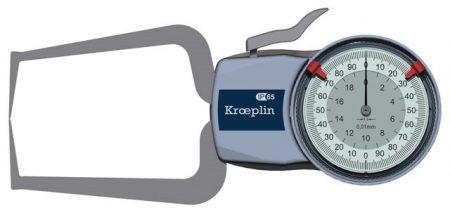 KROEPLIN Tapintókaros mérőóra Analóg D220S